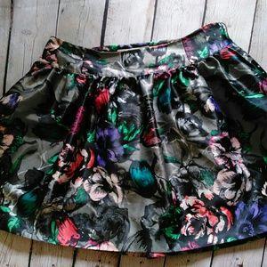 CANDIE'S Floral Mini Skirt JUNIOR